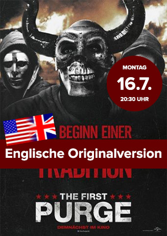 "Englische OV: ""The First Purge"""