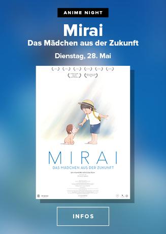 Anime: MIRAI: DAS MÄDCHEN AUS DER ZUKUNFT