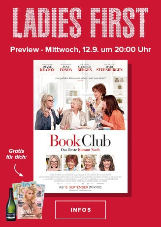 Ladies First: Book Club - Das Beste kommt noch