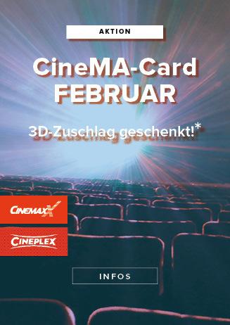 CineMa-Card Februar