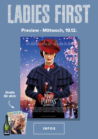 19.12. - Ladies First: Mary Poppins' Rückkehr