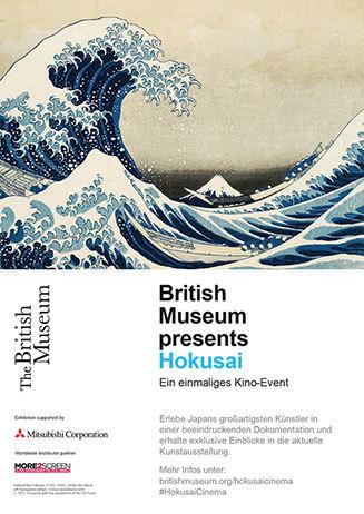 11.6. um 17 Uhr - Hokusai: Beyond the Great Wave