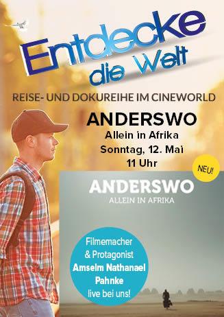 """190512 EdW +Filmemacher """"Anderswo. Allein in Afrika"""""""