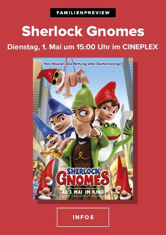 Familien-Preview: SHERLOCK GNOMES