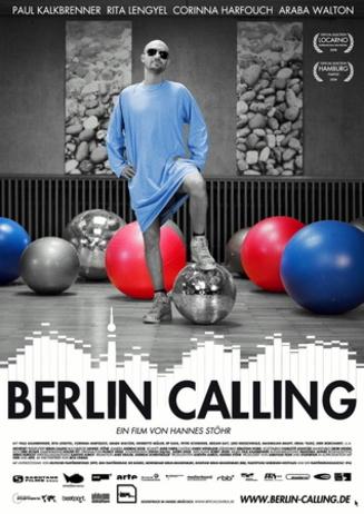 music on screen: BERLIN CALLING