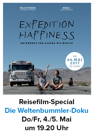 """170504+05 Reise-Special """"Expedition Happiness"""""""