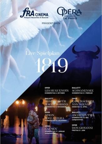 Opera de Paris Saison 2018/2019