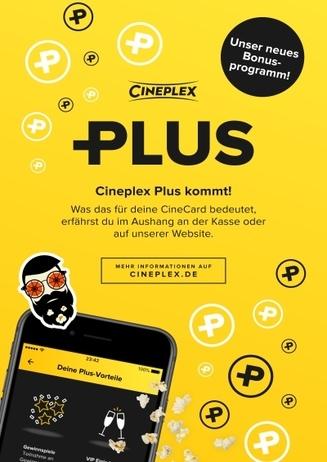 Aus der Clubkarte wird Cineplex Plus