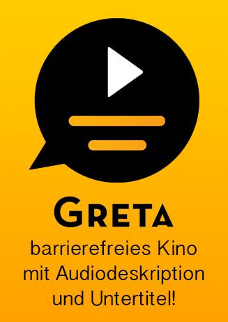 Greta - Audiodeskriptionen und Untertitel
