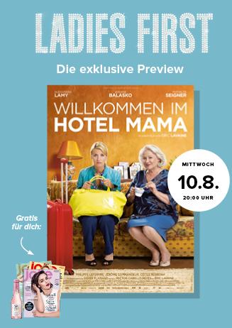 Ladies-First-Preview: WILLKOMMEN IM HOTEL MAMA