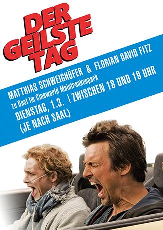 """160301 Darsteller """"Der geilste Tag"""""""