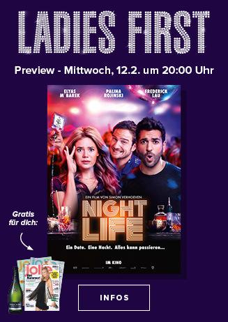 Ladies Night - Nightlife 12.02. 20:00