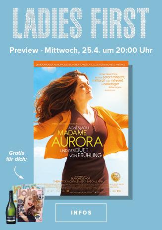 """Ladies First """"Madame Aurora und der Duft von Frühling"""""""
