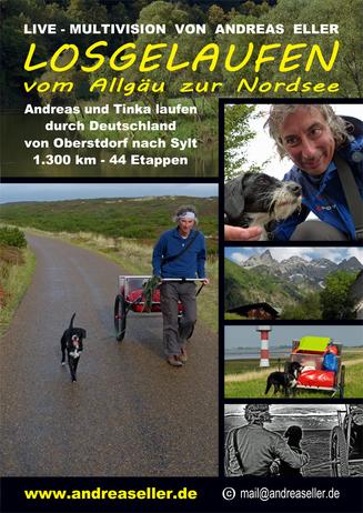 Multivisionsshow: Losgelaufen - Vom Allgäu zur Nordsee