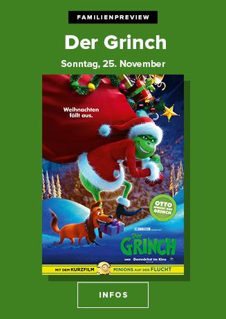Familien-Preview: Der Grinch 25.11.2018