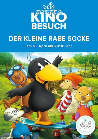 """Dein erster Kinobesuch: """"Der kleine Rabe Socke"""""""