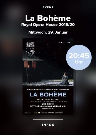 """Royal Opera House 2019/20: """"La Bohème"""""""