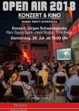 """1. Abend: """"Konzert & Kino unterm Sternenhimmel"""""""