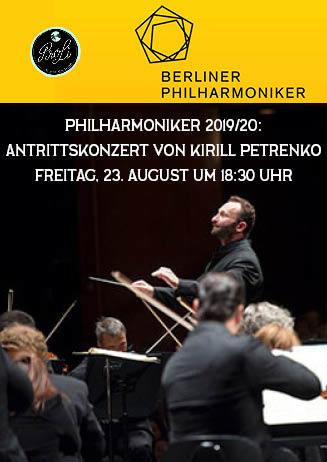 Berliner Philharmoniker: Antrittskonzert von Kirill Petrenko