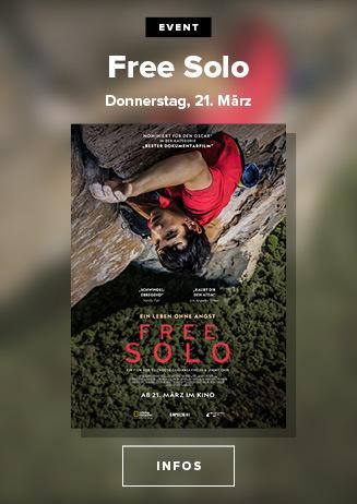 Free Solo - Nur am 21. und 24. März 2019 im Cineplex Goslar