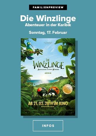 """Familienpreview """" Die Winzlinge: Abenteuer in der Karibik """""""