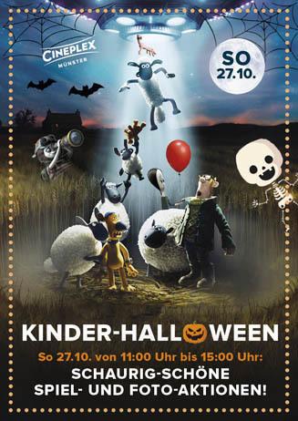 Kinder-Halloween im CINEPLEX