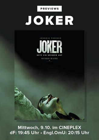 Previews: JOKER
