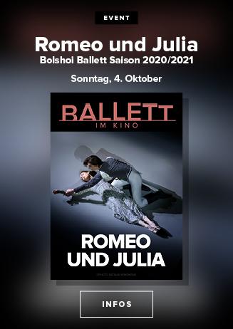 Aufzeichung aus dem Moskauer Bolschoi: ROMEO UND JULIA