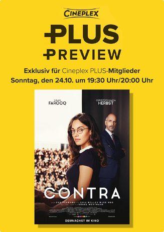 "Cineplex PLUS Preview: ""Contra"""
