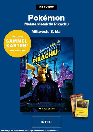 Preview: Pokémon Meisterdetektiv Pikachu 3D