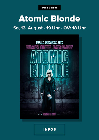 """170813 Preview """"Atomic Blonde"""""""