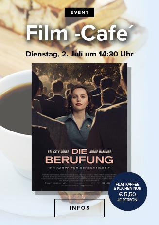 """Filmcafé: """"Die Berufung - Ihr Kampf für Gerechtigkeit"""