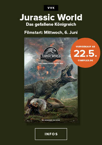 VVk Jurassic World ab 22.5.