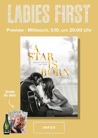 Ladies First: A STAR IST BORN