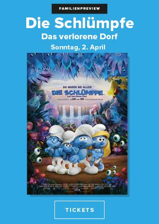 """Familienpreview """"Die Schlümpfe - Das verlorene Dorf"""""""