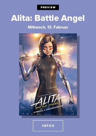 Alita: Battle Angel in der Preview