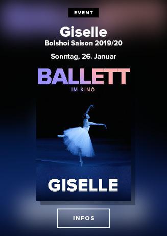 Bolshoi Ballett 2019/20: Giselle - 26.01.2020