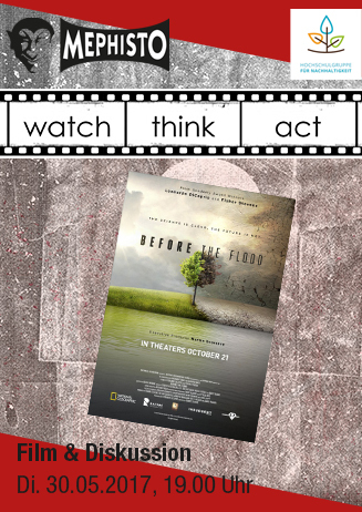 """watch.think.act """"Before the Flood"""""""