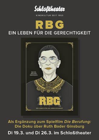 RBG – Ein Leben für die Gerechtigkeit