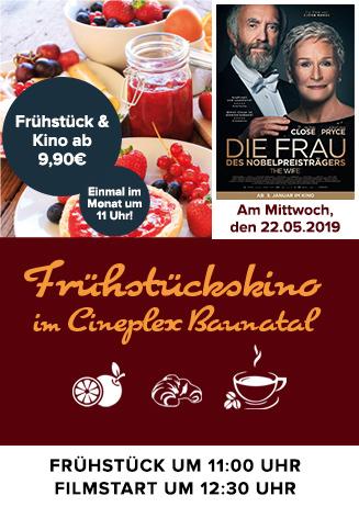 "Frühstückskino: ""Die Frau des Nobelpreisträgers"""