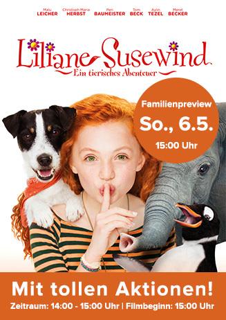 Familienpreview: Liliane Susewind - Ein tierisches Abenteuer