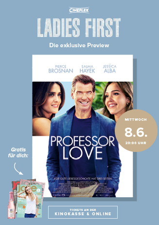 Ladies First-Preview: PROFESSOR LOVE
