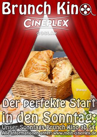 Brunchkino im Cineplex Goslar