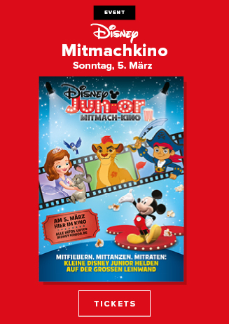 "Special ""Disney Junior Mitmach-Kino"""