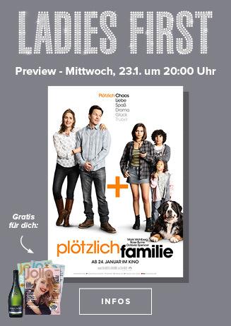 """Ladies First Preview: """"Plötzlich Familie"""""""