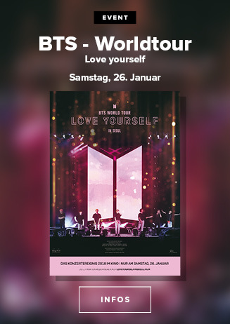 BTS - Love Yourself Worldtour in Seoul am 26.01.19