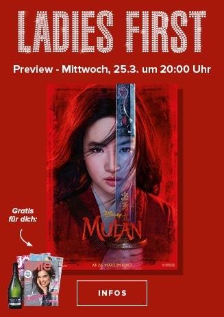 Ladies First Mulan 25.03. 20.00