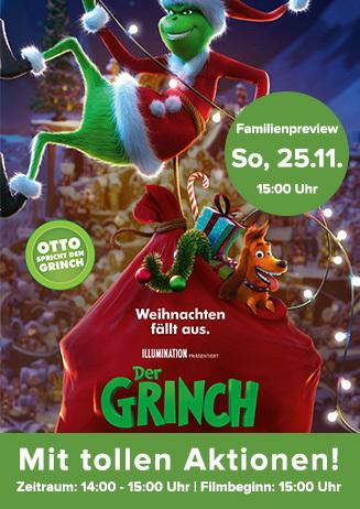 "Familienpreview: ""Der Grinch"""