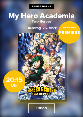 "Anime Night: ""My Hero Academia: Two Heroes"""