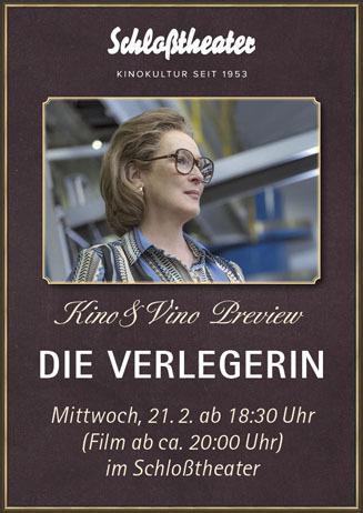 Kino&Vino-Preview: DIE VERLEGERIN